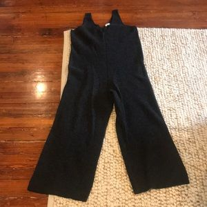 Madewell sweater jumpsuit